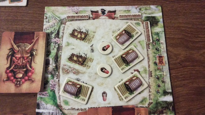 Samurai Spirit Village game board