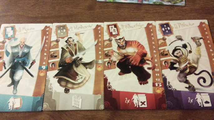 Samurai Spirit Samurai game board